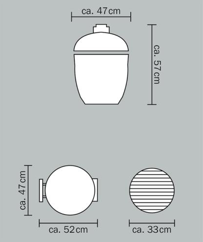 Monolith Grill Junior Masse